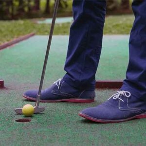 putting green artificial turf installations